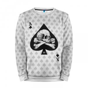 Merchandise Sweatshirt Deadly Ace Spades Poker