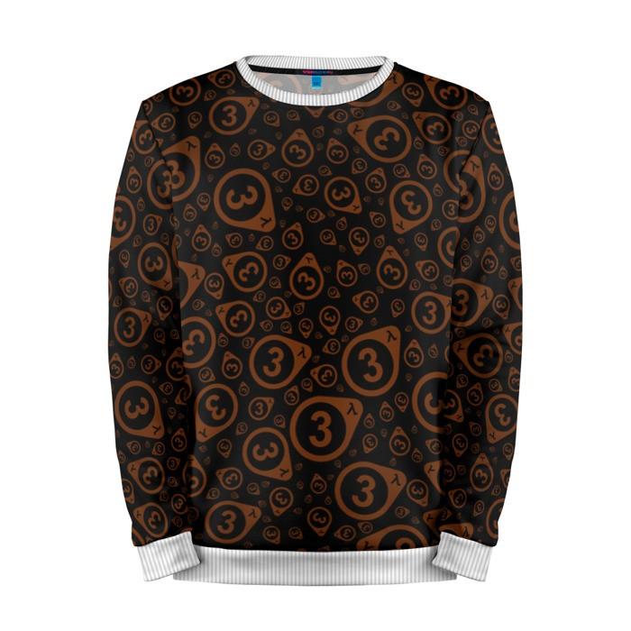 Buy Mens Sweatshirt 3D: Half life 3 Dark Pattern Art Logo merchandise collectibles