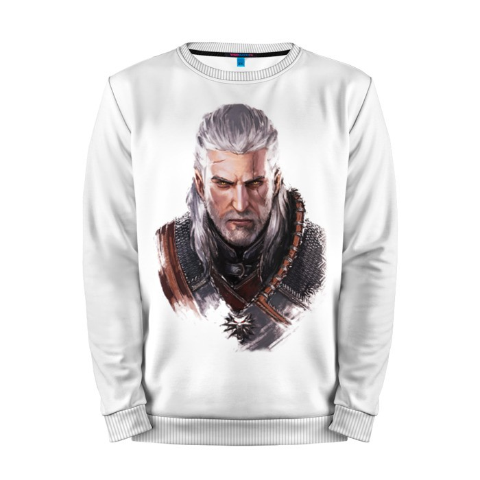 Buy Mens Sweatshirt 3D: Геральт из Ривии The Witcher merchandise collectibles