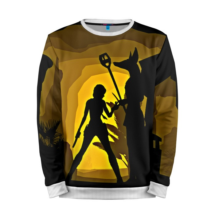 Buy Mens Sweatshirt 3D: Tomb raider Lara Croft Illustration merchandise collectibles