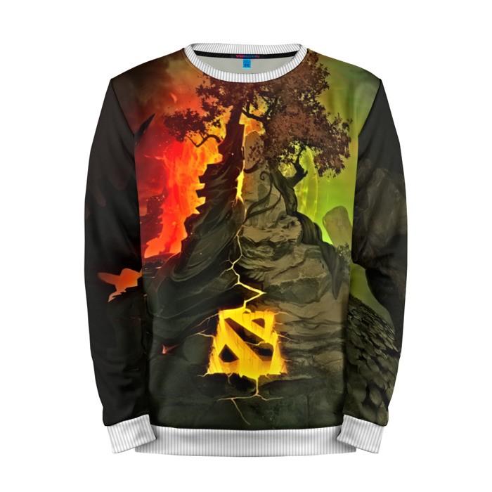 Buy Mens Sweatshirt 3D: DOTA Logo Dota 2 jacket merchandise collectibles