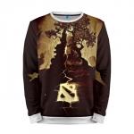 Merchandise Sweatshirt Dota 2 Print Gaming Sweater