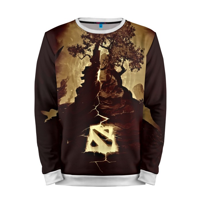 Buy Mens Sweatshirt 3D: Logo Emblem Dota 2 jacket merchandise collectibles