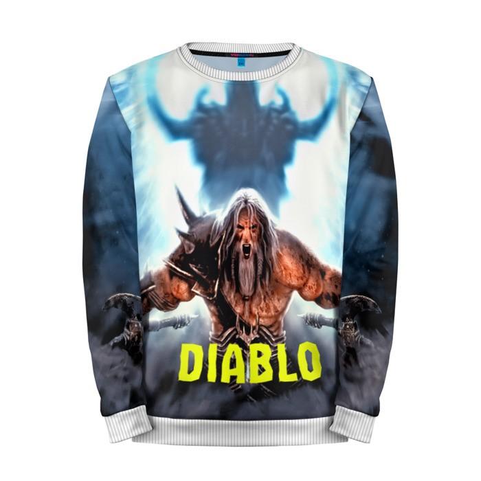 Buy Mens Sweatshirt 3D: Diablo Warrior I 1 Game Merchandise collectibles