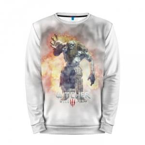 Buy Mens Sweatshirt 3D: The Witcher Art Gaming merchandise collectibles