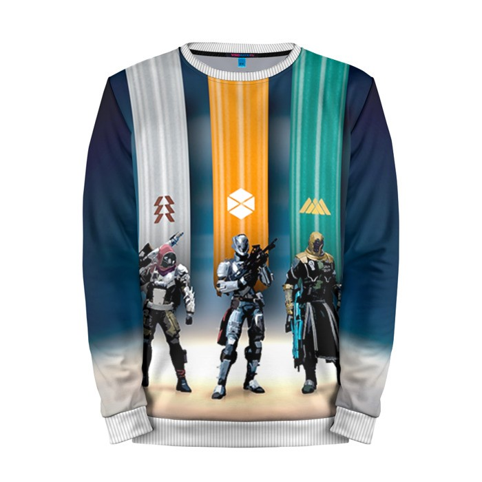 Buy Mens Sweatshirt 3D: Destiny 8 Charaters merchandise collectibles
