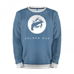 Buy Mens Sweatshirt 3D: Golden Gun Destiny Merchandise collectibles