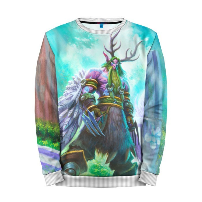 Buy Mens Sweatshirt 3D: Malfurion Stormrage Hearthstone Merchandise collectibles