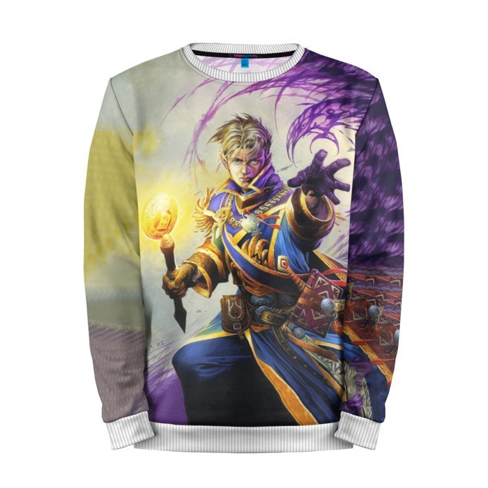 Buy Mens Sweatshirt 3D: Anduin Wrynn Hearthstone Merchandise collectibles