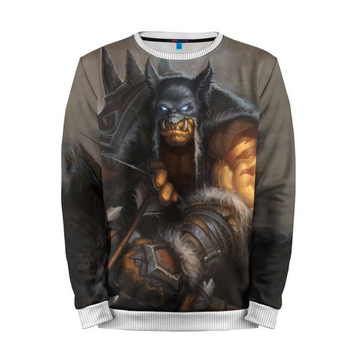 Buy Mens Sweatshirt 3D: Rexxar Hearthstone Merchandise collectibles