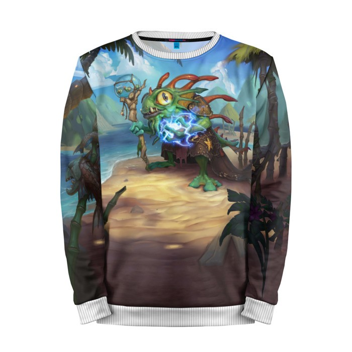 Buy Mens Sweatshirt 3D: Morgl the Oracle Hearthstone Merchandise collectibles