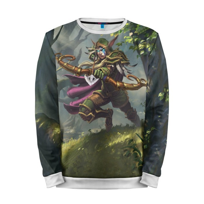 Buy Mens Sweatshirt 3D: Alleria Windrunner Hearthstone Merchandise collectibles