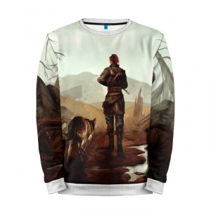 Buy Mens Sweatshirt 3D: FallOut4Girl Fallout Lady Girl merchandise collectibles
