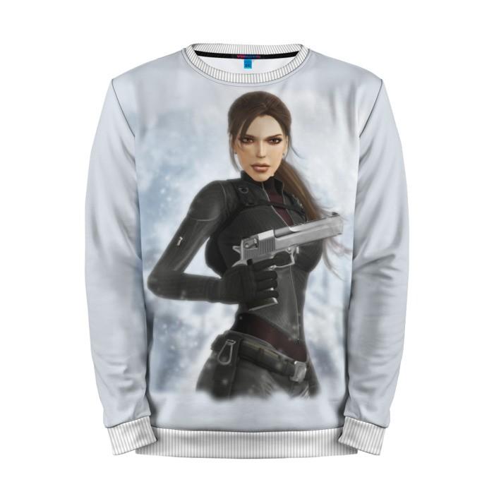 Buy Mens Sweatshirt 3D: Tomb raider Lara Croft Sweater merchandise collectibles
