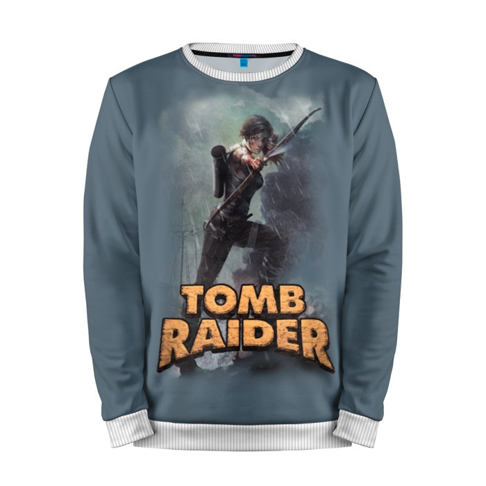 Buy Mens Sweatshirt 3D: Tomb raider Lara Croft Shirt merchandise collectibles