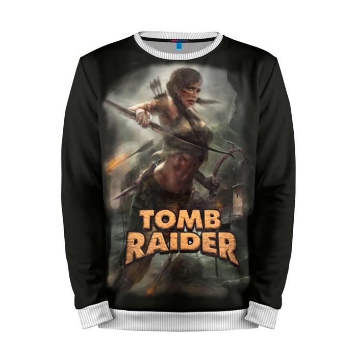 Buy Mens Sweatshirt 3D: Tomb raider Lara Croft Merch merchandise collectibles