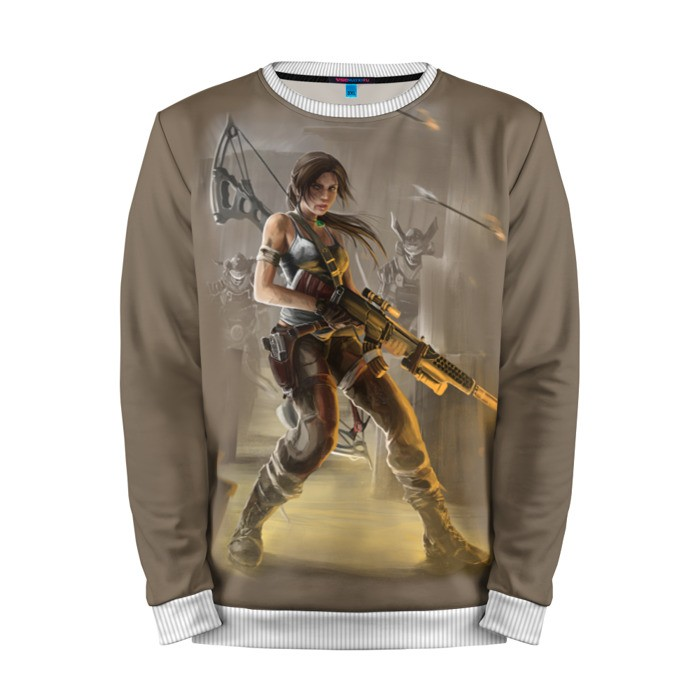 Buy Mens Sweatshirt 3D: Tomb raider Lara Croft Merchandise Merchandise collectibles