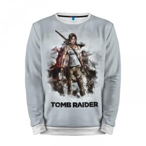 Collectibles Sweatshirt Tomb Raider Lara Game Art