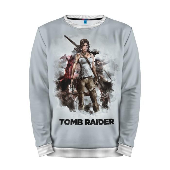 Merchandise Sweatshirt Tomb Raider Lara Game Art