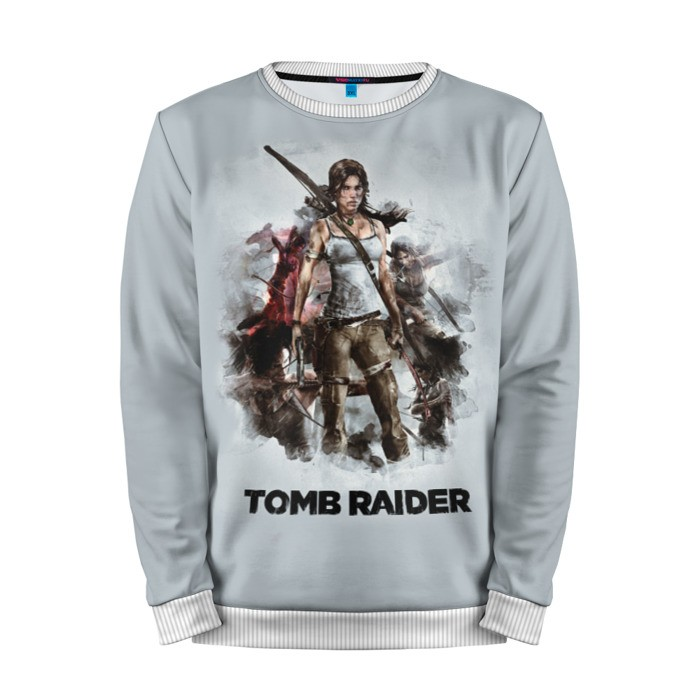 Buy Mens Sweatshirt 3D: Tomb raider Lara Croft Game art merchandise collectibles