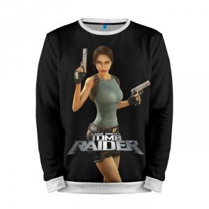 Buy Mens Sweatshirt 3D: Tomb raider Lara Croft Classic merchandise collectibles