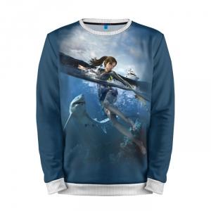 Collectibles Sweatshirt Tomb Raider Lara Croft Sea Sharks