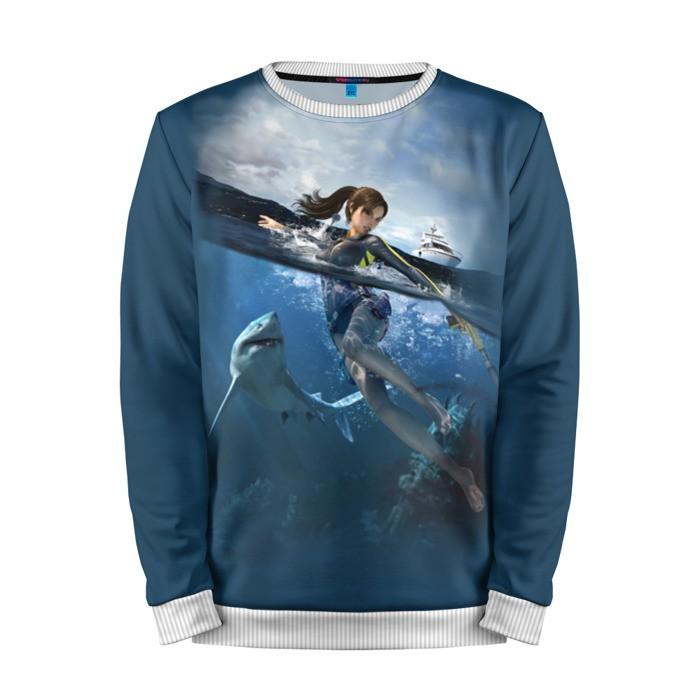 Buy Mens Sweatshirt 3D: Tomb raider Lara Croft Sea Sharks merchandise collectibles
