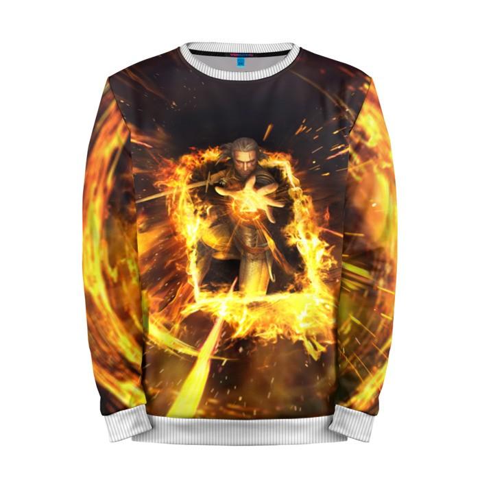 Buy Mens Sweatshirt 3D: The Witcher Gameplay merchandise collectibles