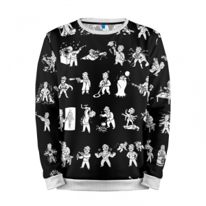 Buy Mens Sweatshirt 3D: Perks Fallout Merchandise Art Gaming merchandise collectibles