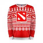 Merchandise Sweatshirt Christmas Special Dota 2