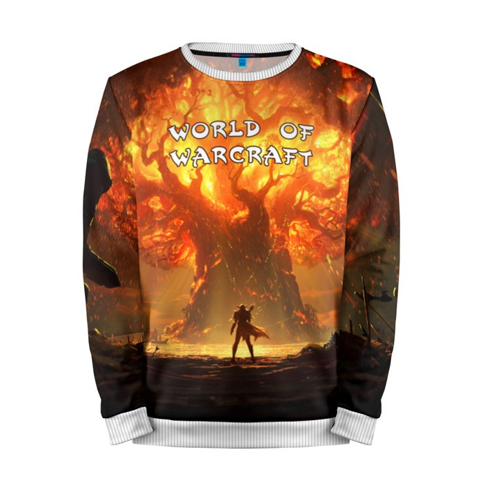 Buy Mens Sweatshirt 3D: Battle for Azeroth World of Warcraft merchandise collectibles