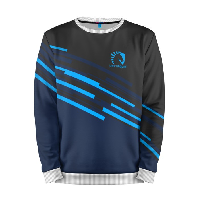 Merchandise Sweatshirt Team Liquid Stripes Uniform Dota 2