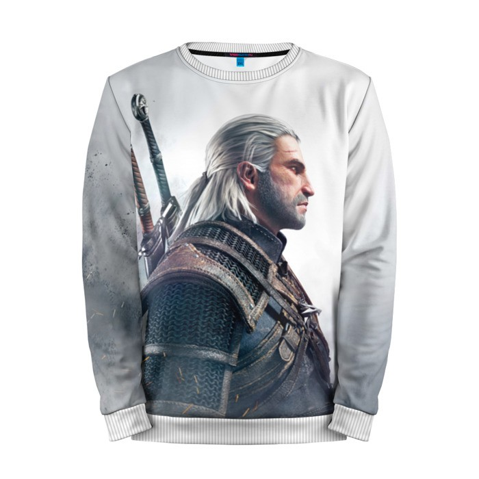 Buy Mens Sweatshirt 3D: Geralt z Rivii The Witcher merchandise collectibles