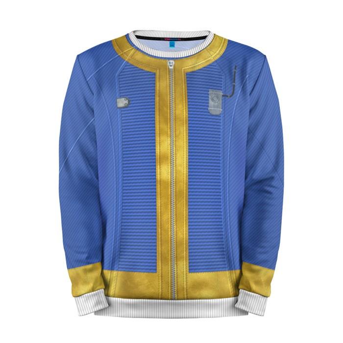 Buy Mens Sweatshirt 3D: jumpsuit costume shelter 111 Fallout merchandise collectibles