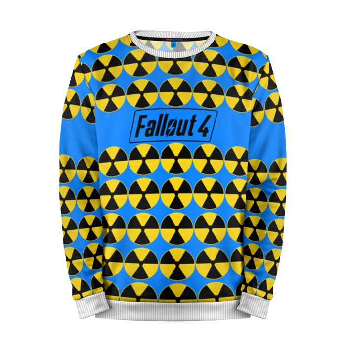 Buy Mens Sweatshirt 3D: fallout 4 radiation Fallout merchandise collectibles