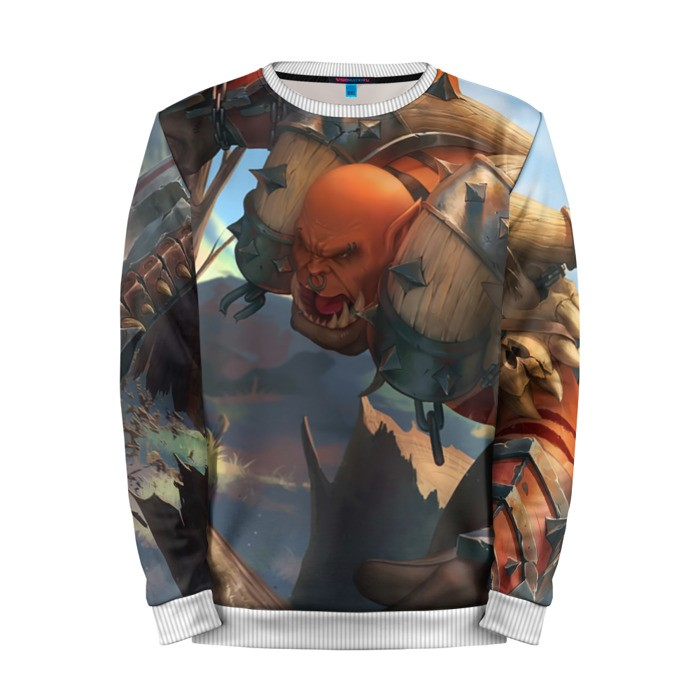Buy Mens Sweatshirt 3D: Orc World of Warcraft Merchandise collectibles