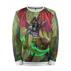 Buy Mens Sweatshirt 3D: illidan World of Warcraft Merchandise collectibles