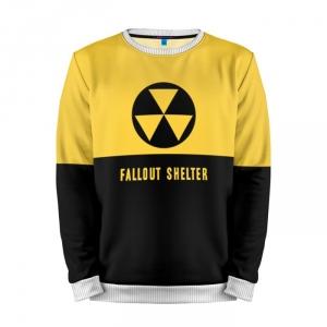 Buy Mens Sweatshirt 3D: FALLOUT SHELTER Fallout merchandise collectibles