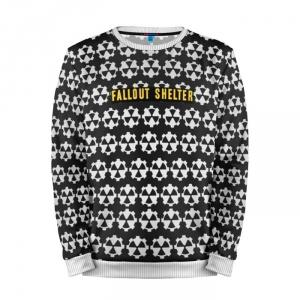 Buy Mens Sweatshirt 3D: SHELTER BLACK Fallout merchandise collectibles