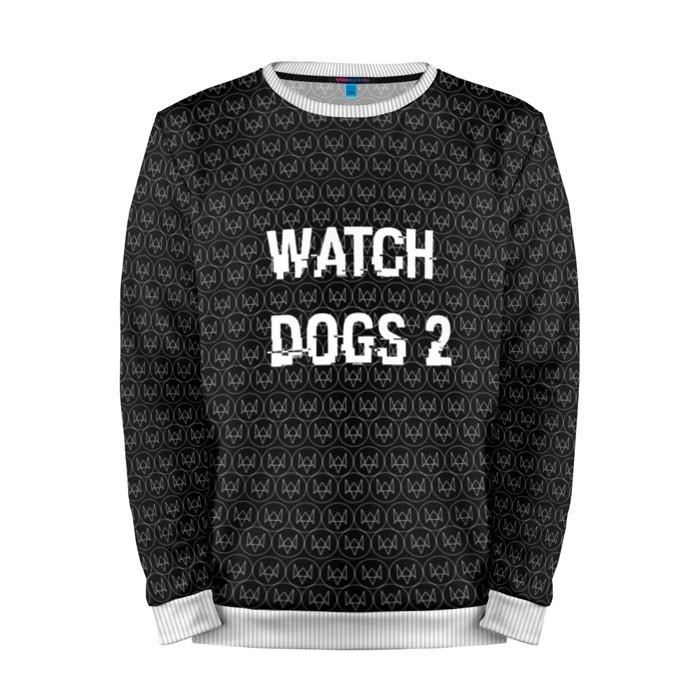 Buy Mens Sweatshirt 3D: Watch Dogs 2 Sweater merchandise collectibles