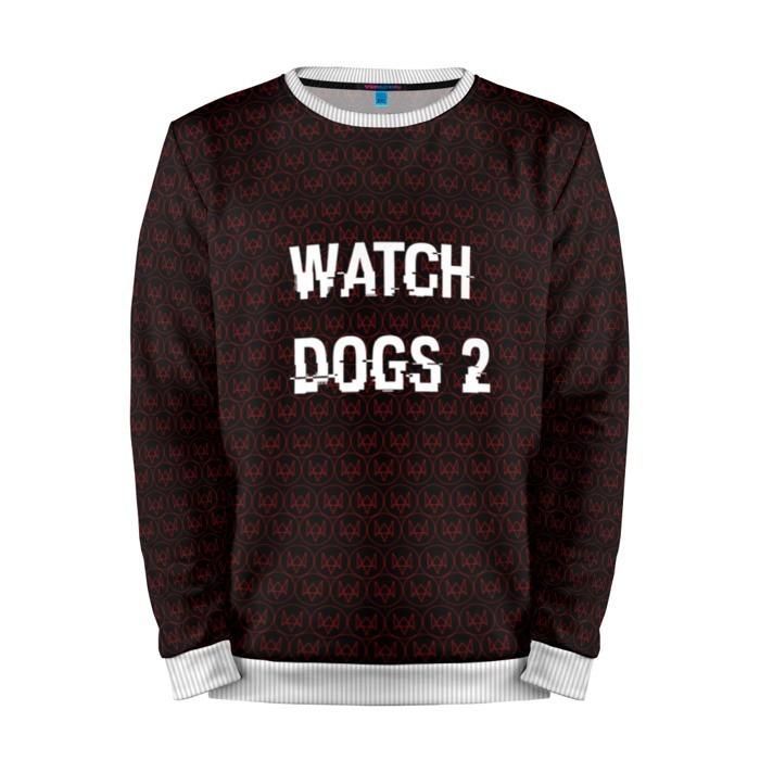 Buy Mens Sweatshirt 3D: Watch Dogs 2 Title merchandise collectibles