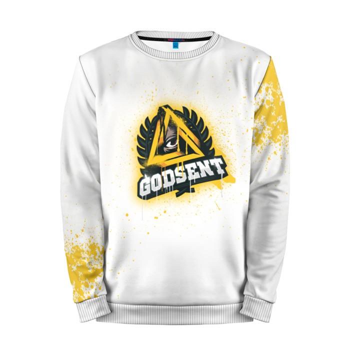 Merch Sweatshirt Cs Go Godsent White Counter Strike