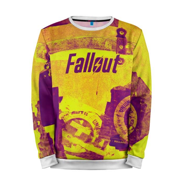 Buy Mens Sweatshirt 3D: Fallout Retro style merchandise collectibles