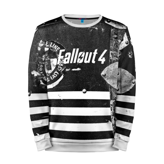 Buy Mens Sweatshirt 3D: Fallout Art Merchandise merchandise collectibles