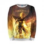 Merch Sweatshirt Dark Souls Fire Art Game Sweater