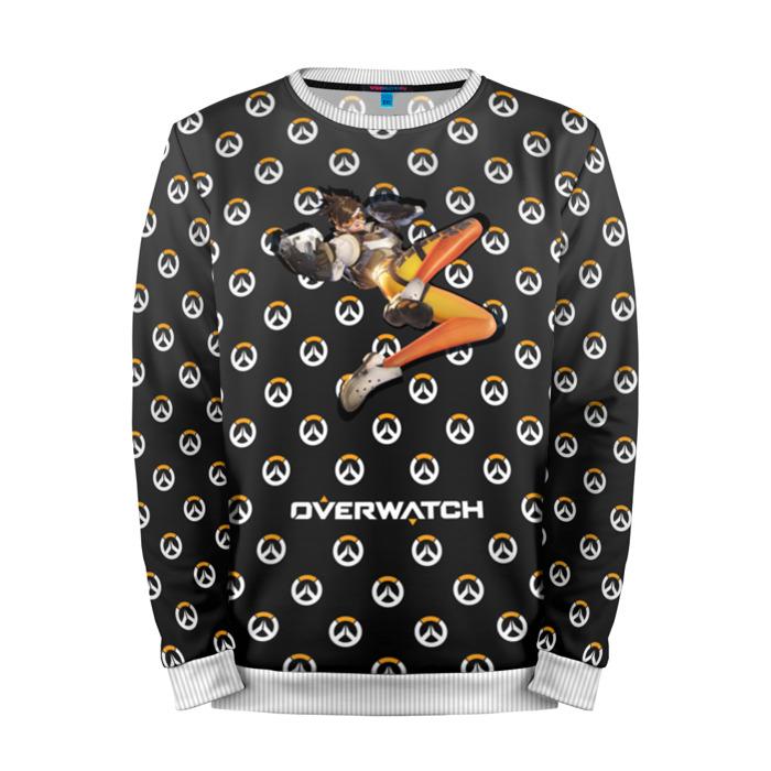 Merch Sweatshirt Overwatch Tracer Logo Pattern