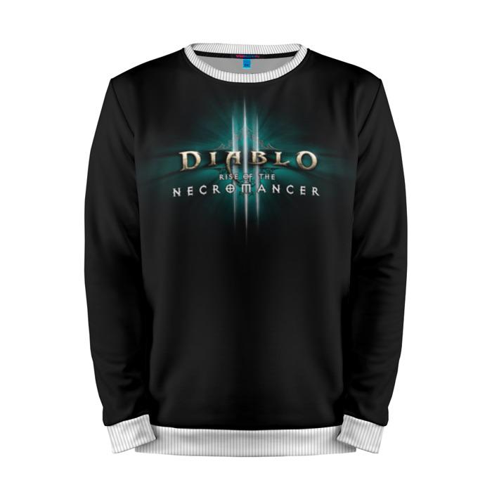 Buy Mens Sweatshirt 3D: Diablo III Main Title Merchandise collectibles