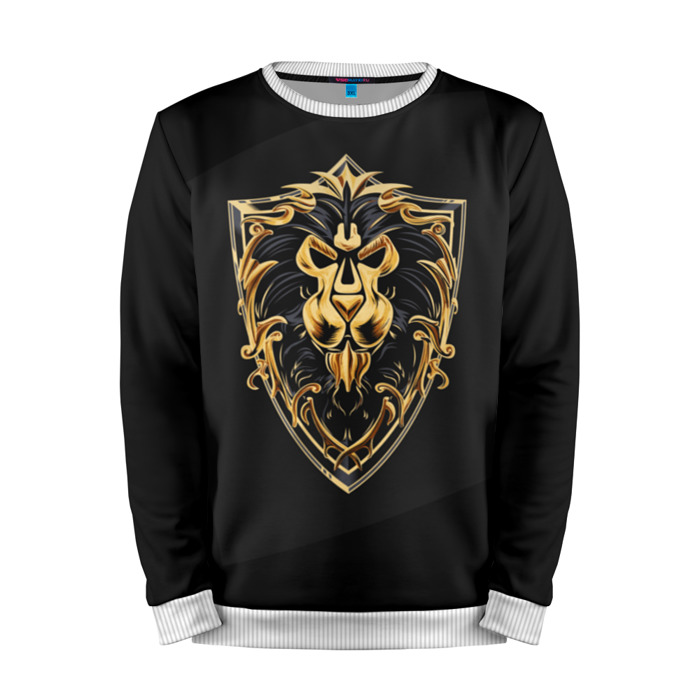 Buy Mens Sweatshirt 3D: Alliance World of Warcraft Merchandise collectibles