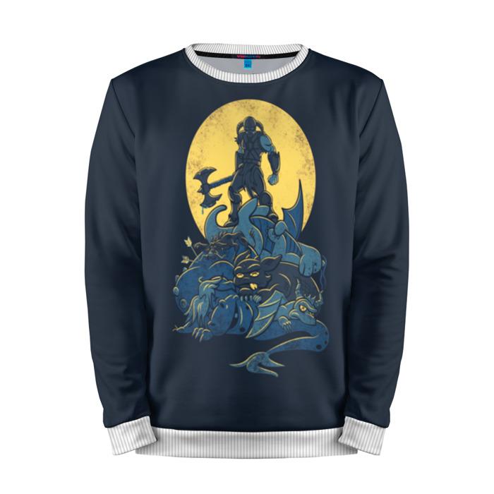 Buy Mens Sweatshirt 3D: Dovahkiin minimalism The Elder Scrolls Merchandise collectibles