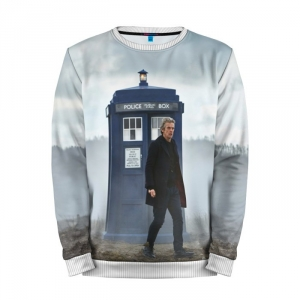 Buy Mens Sweatshirt 3D: Doctor Who Peter Capaldi 12th Doctor Merchandise collectibles
